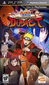 Box artwork for Naruto Shippuden: Ultimate Ninja Impact.