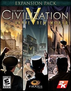 Box artwork for Sid Meier's Civilization V: Brave New World.