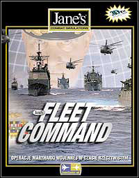 Box artwork for Jane's Fleet Command.
