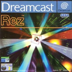 Box artwork for Rez.