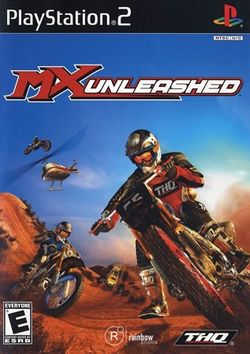 Box artwork for MX Unleashed.