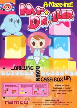 Box artwork for Mr. Driller.