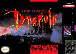 Box artwork for Bram Stoker's Dracula.