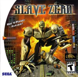 Box artwork for Slave Zero.