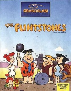 Box artwork for The Flintstones (1988).