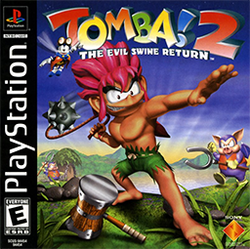 Box artwork for Tomba! 2: The Evil Swine Return.