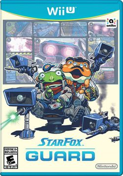 Box artwork for Star Fox Guard.