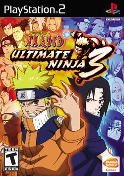 Box artwork for Naruto: Ultimate Ninja 3.