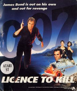 Box artwork for 007: Licence to Kill.