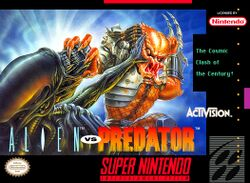 Box artwork for Alien vs Predator.