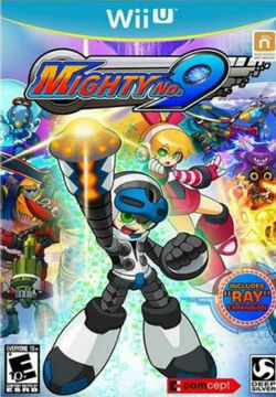 Box artwork for Mighty No. 9.