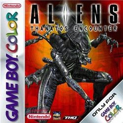Box artwork for Aliens: Thanatos Encounter.