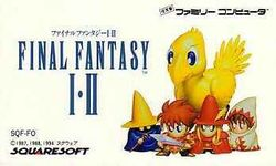 Box artwork for Final Fantasy 1-2.