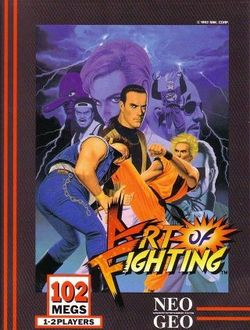Box artwork for Art of Fighting.