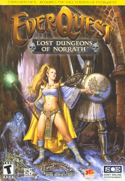 Box artwork for EverQuest: Lost Dungeons of Norrath.