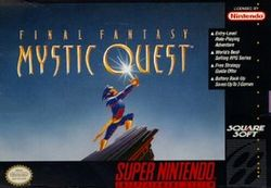 Box artwork for Final Fantasy Mystic Quest.