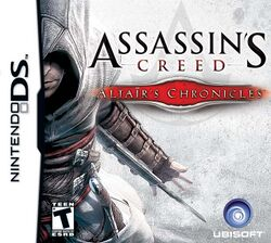 Box artwork for Assassin's Creed: Altaïr's Chronicles.