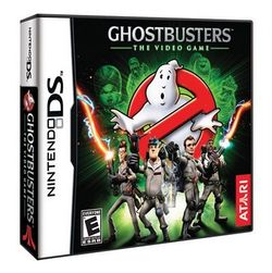 Box artwork for Ghostbusters: The Video Game (Nintendo DS).