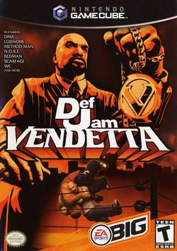 Box artwork for Def Jam: Vendetta.