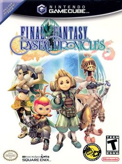 Box artwork for Final Fantasy Crystal Chronicles.