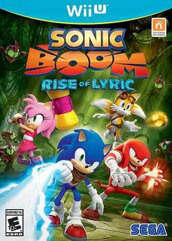 Box artwork for Sonic Boom: Rise of Lyric.