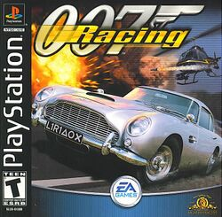 Box artwork for 007 Racing.