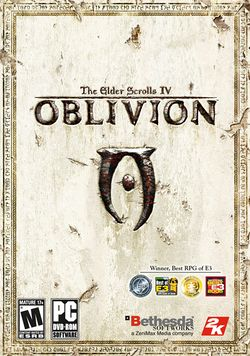 Box artwork for The Elder Scrolls IV: Oblivion.