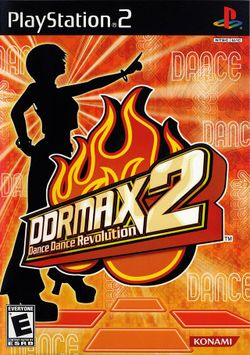 Box artwork for DDRMAX2 Dance Dance Revolution.