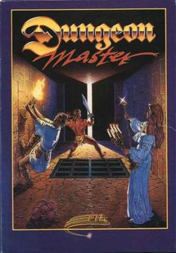 Box artwork for Dungeon Master.