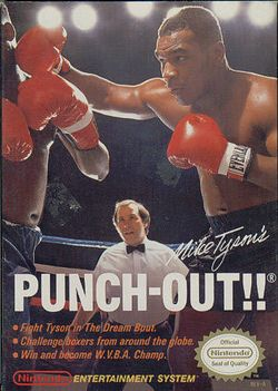 Box artwork for Mike Tyson's Punch-Out!!.