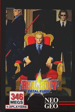 Box artwork for Real Bout Fatal Fury.