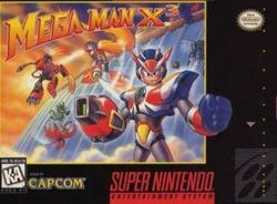 Box artwork for Mega Man X3.