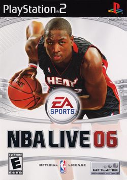 Box artwork for NBA Live 06.