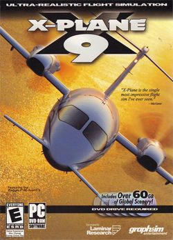 Box artwork for X-Plane.