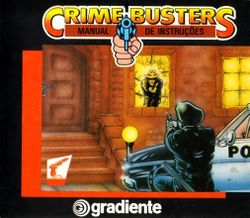 Box artwork for Crime Busters.