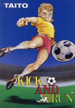Box artwork for Kick and Run.