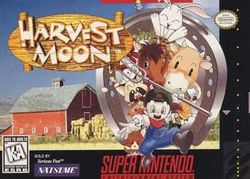 Box artwork for Harvest Moon.