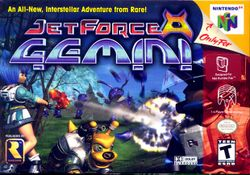 Box artwork for Jet Force Gemini.