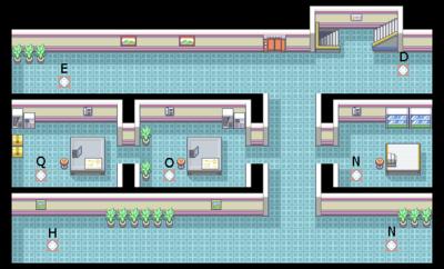 Pokemon Leaf Green Silph Co Office Building