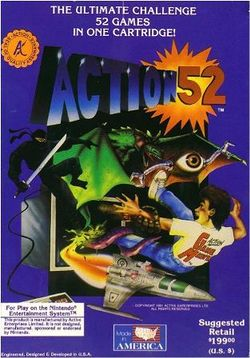 Box artwork for Action 52.