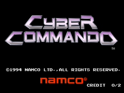 Box artwork for Cyber Commando.