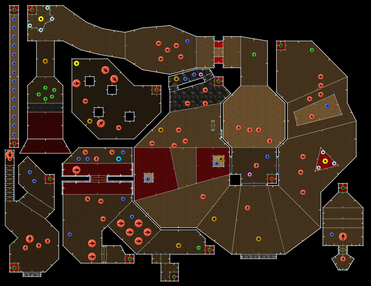 Doom E2M1 Deimos Anomaly u2014 StrategyWiki, the video game walkthrough and strategy guide wiki