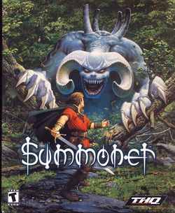 Box artwork for Summoner.