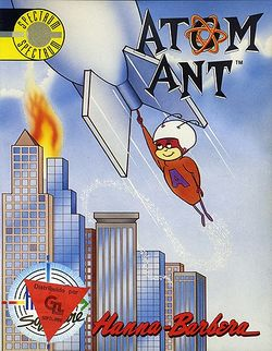 Box artwork for Atom Ant.
