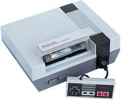 The console image for Nintendo Entertainment System.
