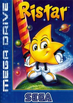 Box artwork for Ristar.