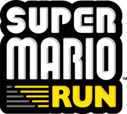 Box artwork for Super Mario Run.