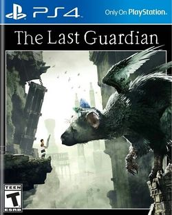 Box artwork for The Last Guardian.