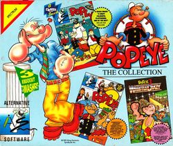 Box artwork for The Popeye Collection.