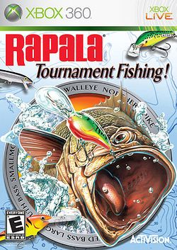 Box artwork for Rapala Tournament Fishing.